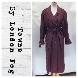 Towne by London Fog trench coat